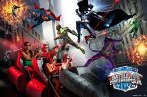 six Flags Justice League